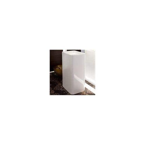 Bette Art Monolith Waschtisch 60 x 40 cm  B: 60 T: 40 H: 90 cm weiß mit betteglasur®plus A183-000PW