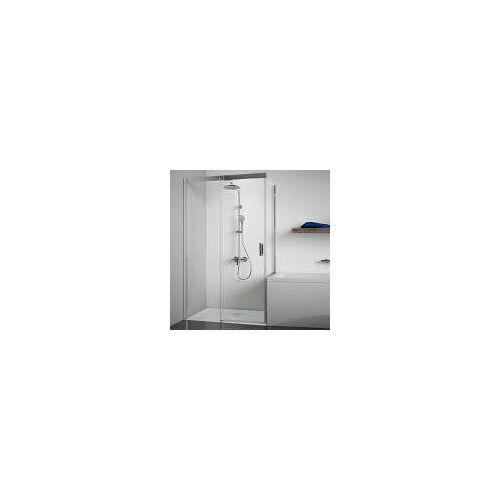 Breuer Panorama Badewannenseitenwand für Schiebetür 80 cm Panorama Badewannenseitenwand für Schiebetür B: 80 H: 174,5 cm 3492.005.001.003