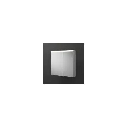 burgbad Iveo Spiegelschrank mit LED-Beleuchtung 70,8 cm Iveo B: 70,8 T: 16 H: 68 cm verspiegelt SPHU070-L-F2833-PN326