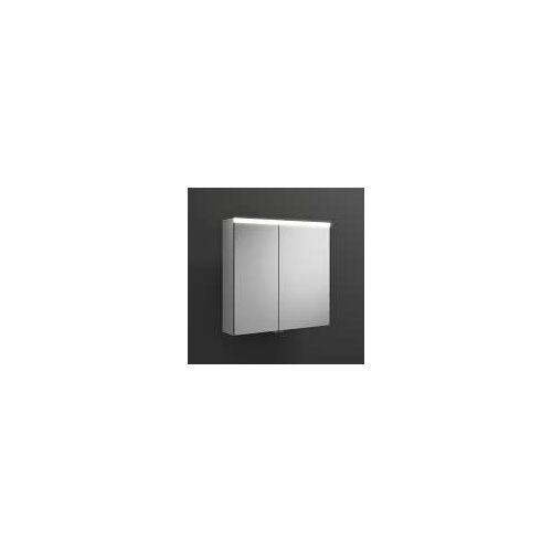 burgbad Iveo Spiegelschrank mit LED-Beleuchtung 70,8 cm Iveo B: 70,8 T: 16 H: 68 cm verspiegelt SPHU070-R-F2833-PN326