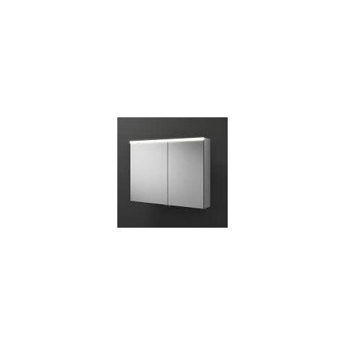 burgbad Iveo Spiegelschrank mit LED-Beleuchtung 90,8 cm Iveo B: 90,8 T: 16 H: 68 cm verspiegelt SPHU090-L-F2833-PN326