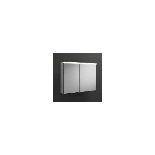 burgbad Iveo Spiegelschrank mit LED-Beleuchtung 90,8 cm Iveo B: 90,8 T: 16 H: 68 cm verspiegelt SPHU090-R-F2833-PN326
