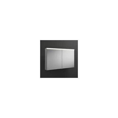 burgbad Iveo Spiegelschrank mit LED-Beleuchtung 110,8 cm Iveo B: 110,8 T: 16 H: 68 cm verspiegelt SPHU110-F2833-PN326