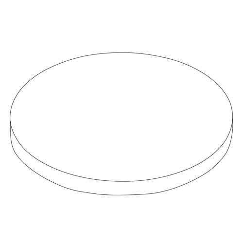 Dornbracht Ersatzdeckel  Ersatzdeckel platin matt 092097015-06