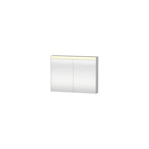 Duravit Licht und Spiegel Spiegelschrank 101 x 76 cm Good-Version Licht und Spiegel B: 101 T: 14,8 H: 76 cm weiß LM782200000