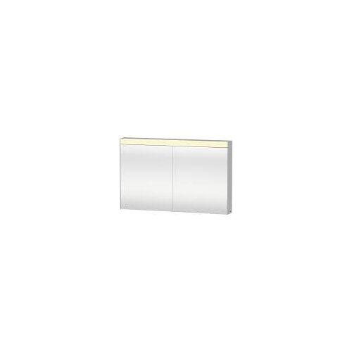 Duravit Licht und Spiegel Spiegelschrank 121 x 76 cm Good-Version Licht und Spiegel B: 121 T: 14,8 H: 76 cm weiß LM782300000