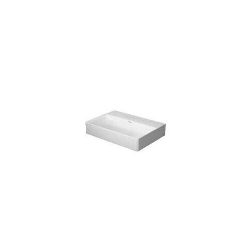 Duravit DuraSquare Waschtisch ohne Hahnloch 60 x 40 cm DuraSquare B: 60 T: 40 cm weiß 2356600070
