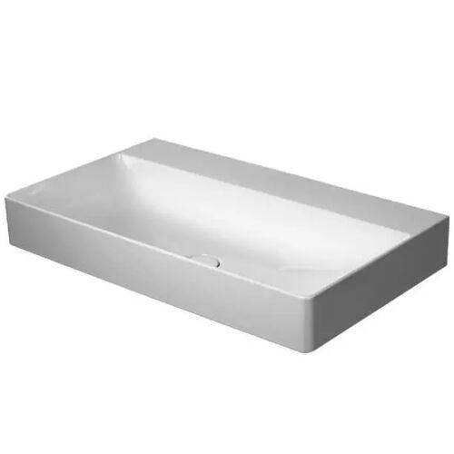 Duravit DuraSquare Waschtisch ohne Hahnloch 80 x 47 cm DuraSquare B: 80 T: 47 cm weiß 2353800070