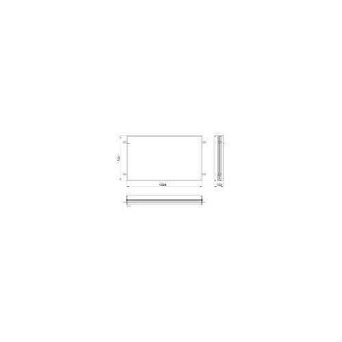 Emco asis prime 2 Einbaurahmen für Unterputz LED-Lichtspiegelschrank 160 cm für asis prime 2 UP-Spiegelschränke 160 x 70 cm   949700015
