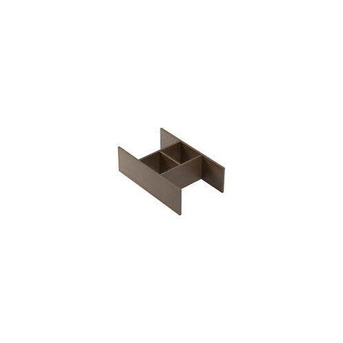 Emco Ordnungssystem für Monolith Waschtische, hoch asis Monolith für hohe Schubladen nussbaum 958351010