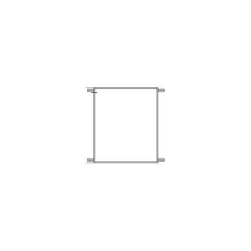 Emco Einbaurahmen für evo Einbau-Spiegelschrank 60 x 70 cm für evo Einbau-Spiegelschrank 60 x 70 cm   939700001