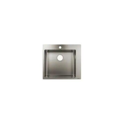 Hansgrohe S711-F450 Einbauspüle 450 Küchenspülen B: 55 T: 50 H: 19 cm edelstahl 43301800