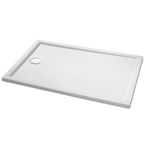 HÜPPE Purano Rechteckduschwanne 100 x 90 cm Purano L: 100 B: 90 H: 4 cm weiß 202272055