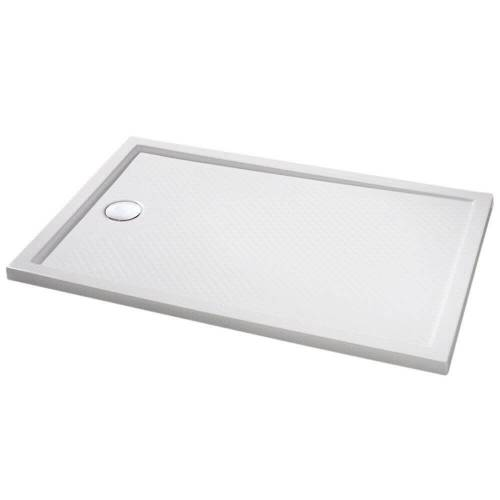 HÜPPE Purano Rechteckduschwanne 80 x 100 cm Purano L: 80 B: 100 H: 2,4 cm weiß 202271055