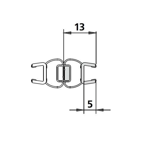 Kermi Diga Magnetdichtung Diga 1 Stück  6025709