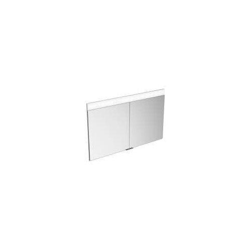 Keuco Edition 400 Einbau-Spiegelschrank mit einstellbarer Lichtfarbe 106 cm Edition 400 B: 106 T: 15,4 H: 65 cm silber gebeizt eloxiert 21502171301