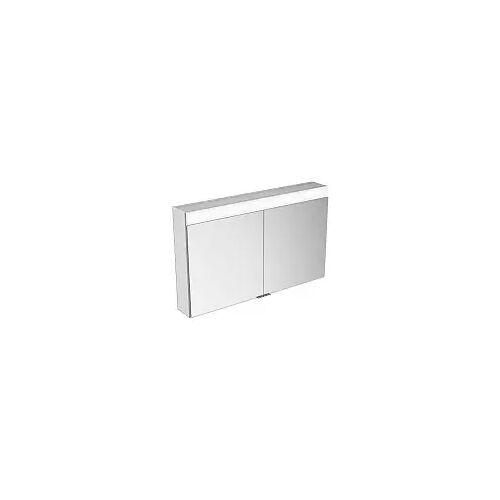Keuco Edition 400 Spiegelschrank mit Spiegelheizung, einstellbarer Lichtfarbe 106 cm Edition 400 B: 106 T: 16,7 H: 65 cm silber gebeizt eloxiert