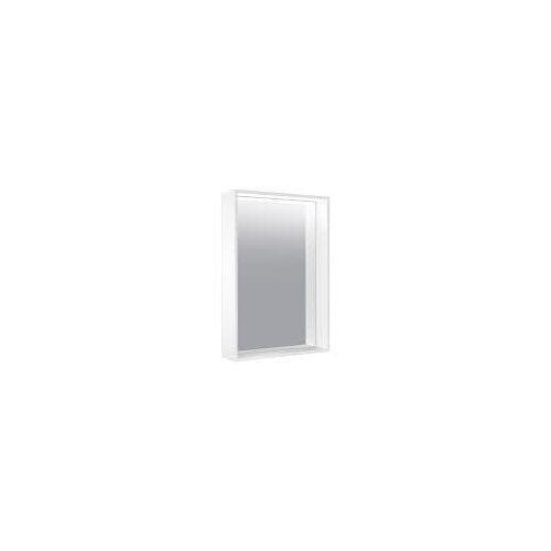 Keuco X-Line Lichtspiegel mit Spiegelheizung 50 x 70 cm  mit Spiegelheizung inox 33298291500