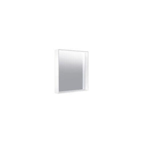 Keuco X-Line Lichtspiegel mit Spiegelheizung 65 x 70 cm  mit Spiegelheizung inox 33298292000