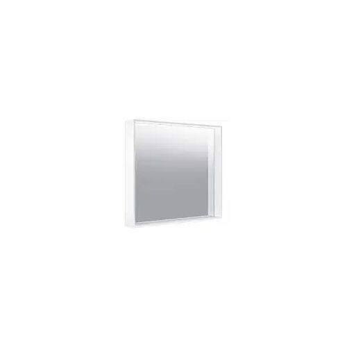 Keuco X-Line Lichtspiegel mit Spiegelheizung 80 x 70 cm  mit Spiegelheizung inox 33298292500