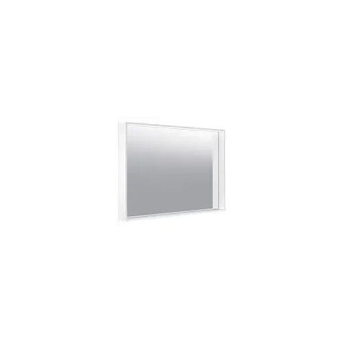 Keuco X-Line Lichtspiegel mit Spiegelheizung 100 x 70 cm  mit Spiegelheizung inox 33298293000