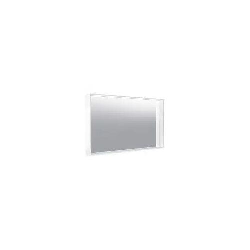 Keuco X-Line Lichtspiegel mit Spiegelheizung 120 x 70 cm  mit Spiegelheizung inox 33298293500