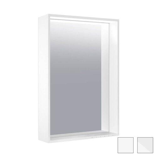Keuco X-Line Lichtspiegel mit Spiegelheizung 46 x 85 cm X-Line mit Spiegelheizung weiß 33298301000