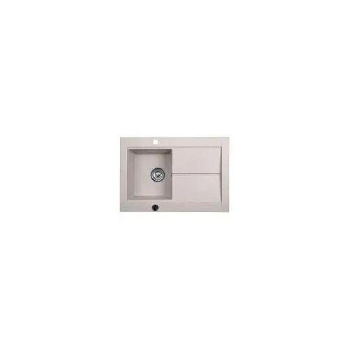 Kronenbach Stonesink Küchenspüle 76,5 x 53,5 cm  B: 76,5 T: 53,5 H: 19,8 cm beige KB0152BE