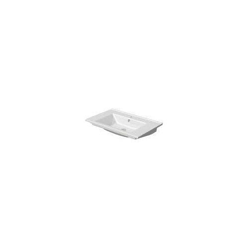 Megabad Profi Collection Fara 2.0 Waschtisch 75 x 45 x 4,6 cm Fara 2.0 B: 75 T: 45 H: 4,6 cm weiß MBWTAR75
