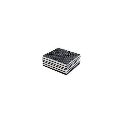 Megabad Profi Collection Noppenplatte 11 mm 20 m² Fußbodenheizung-Noppensystem 20 m² Noppenplatte 11 mm MBNPL11