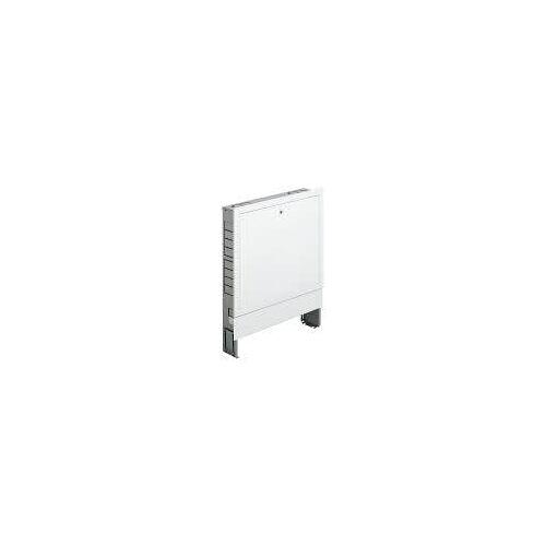 Megabad Profi Collection Fußbodenheizung-Wandschrank Unterputz für Verteiler mit 12 - 15 Heizkreisen Fußbodenheizung B: 103 H: 70,5 - 80,5 T: 11 - 16 cm