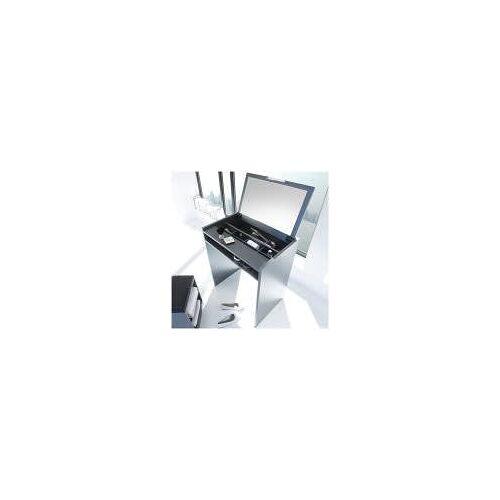 Pelipal Schminktisch 70 x 47 x 85 cm mit Spiegel   weiß matt touch EM-ST01K171