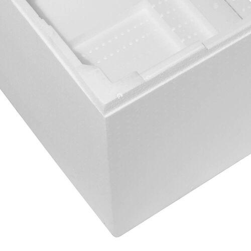Poresta Systems Objekt Wannenträger, fliesengerecht und wärmeisolierend für Badewannen 170 x 75 cm für Badewannen 170 x 75 cm 54,5 cm Vario