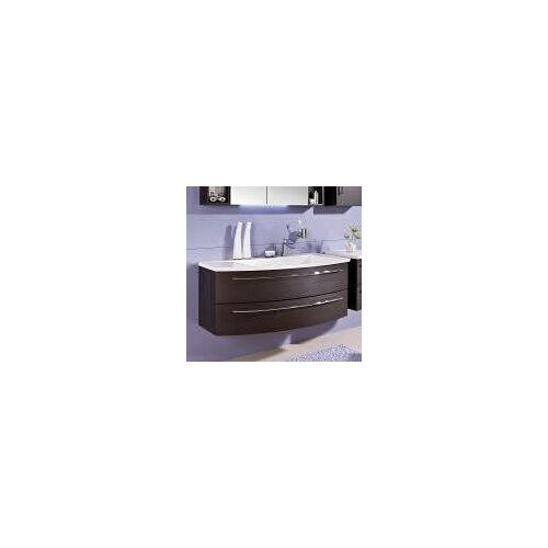 Puris Crescendo Waschtischunterschrank 120 x 47 x 48 cm, für Waschtisch mit Ablage links Crescendo B: 120 T: 47 H: 48 cm polarweiß hochglanz