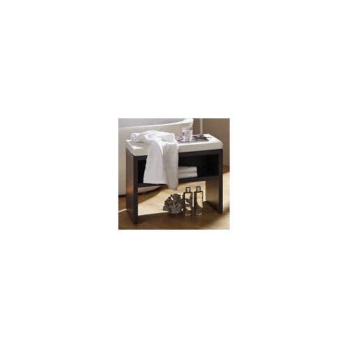 Puris Milano Sitzbank 60 x 45 x 45,8 cm Milano B: 60 T: 45 H: 45,8 cm weiß SETBANK6K10149