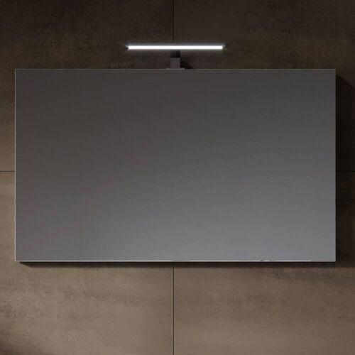 Riho Porto Spiegel mit LED Aufsatzleuchte 100 x 60 Porto B: 100 H: 60 cm mit 1 Aufsatzleuchte 171003300+F91070301