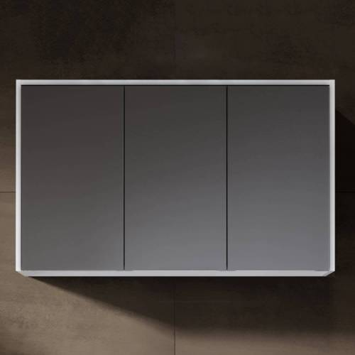 Riho Porto Spiegelschrank ohne Aufsatzleuchte 100 x 60 Porto B: 100 T: 20 H: 60 cm verspiegelt 171006300
