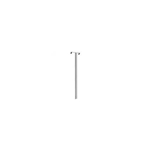 Bravat Aufhängung für Duschkörbe an Duschkabinenwände, 80 cm Körbe B: 20 T: 3,4 H: 80 cm chrom 641510