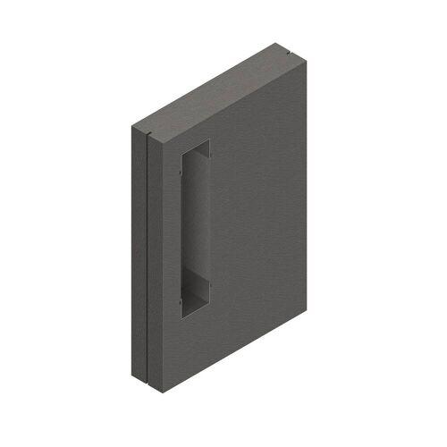 Schedel Schamwand 120 x 80 x 17,5 cm für emco asis WC Modul Anbaumodule B: 80 T: 17,5 H: 120 cm für emco asis WC Modul VISION0058