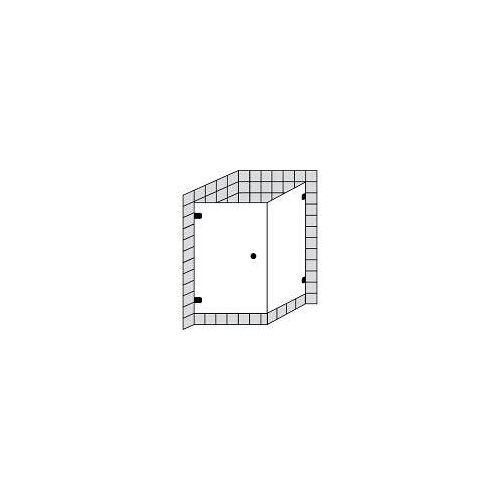 Sprinz BS-Dusche 75 Tür mit Seitenwand bis 100 x 100 x 200 cm BS-Dusche 75 B: 100 T: 100 H: 200 cm chrom BS7513.0-CH