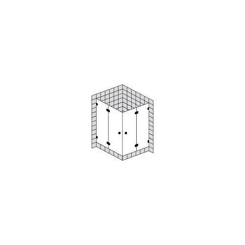 Sprinz BS-Dusche Eckeinstieg bis 100 x 100 x 200 cm BS-Dusche bis B: 100 T: 100 H: 200 cm chrom BS100CH