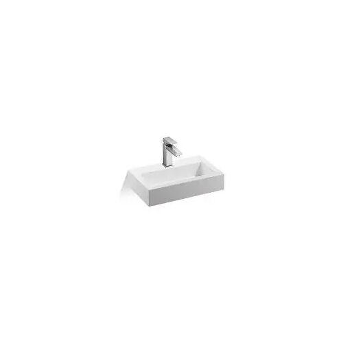 Treos Mineralguss Waschtisch 46 cm 700 B: 46 T: 28 H: 10 cm weiß 700.04.4628