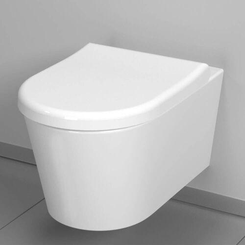 VitrA Options Nest Wand Tiefspül-WC mit Bidetfunktion Options Nest B: 35,5 T: 57,5 cm weiß 5173B003-0559