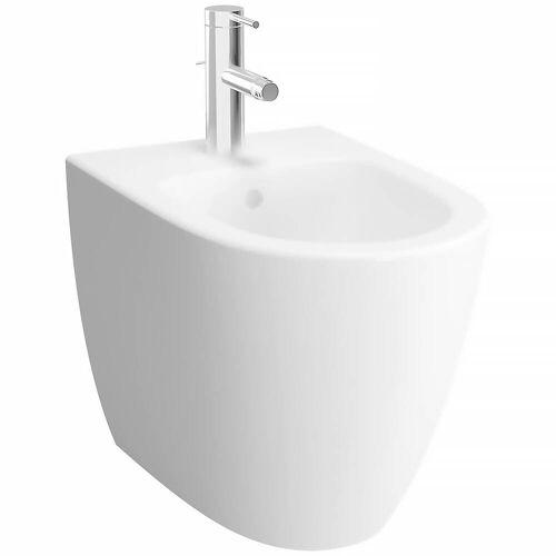 VitrA Sento Standbidet 36,5 x 54 cm  B: 36,5 T: 54 H: 40 cm weiß mit vitraclean 5986B403-0288