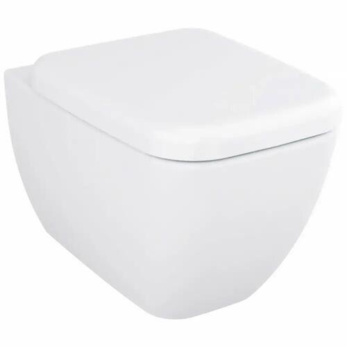 VitrA Shift Wand-WC Tiefspüler mit Bidetfunktion Shift B: 36 T: 54 cm weiß 4392B003-1618