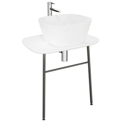 VitrA Plural Waschtischunterbau flach Plural B: 68,5 T: 49 H: 66 cm weiß hochglanz 62560