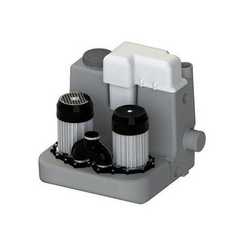 SFA Sanibroy Sanicom 2 Hochleistungs-Hebeanlage für Grauwasser SaniCom 2 B: 58,2 T: 52,9 H: 48,6 cm Hochleistungshebeanlage 0037NM