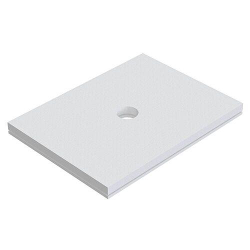 Schedel Plan Unterbauelement 100 x 80 cm bodeneben, 2er Set Plan B: 100 T: 80 cm 2-teilig, für Plan Duschelemente bodeneben SA 32280