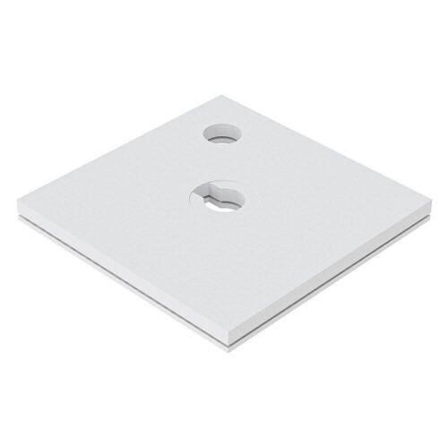 Schedel Plan Unterbauelement 100 x 100 cm bodeneben, 2er Set Plan B: 100 T: 100 cm 2-teilig, für Plan Duschelemente bodeneben SA 32214