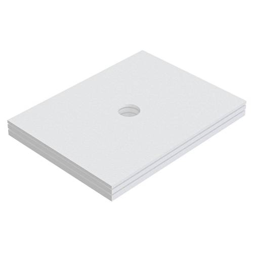 Schedel Plan Unterbauelement 120 x 80 cm bodeneben, 3er Set Plan B: 120 T: 80 cm 3-teilig, für Plan Duschelemente bodeneben SA 32285